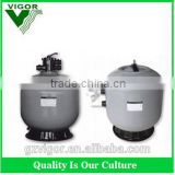 2016 Factory high quality swimming pool top mount sand filters,low maintenance water filter system