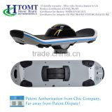 HTOMT New design flash LED light electric skateboard one wheel self balancing electric unicycle scooter