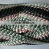 Factory Regenerated arylic blended yarn with polyester for kingtting socks, acrylic/poly yarn for knitting socks
