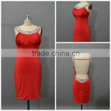 Woman Sexy Red Backless Custom Made Short Mini Designs Evening Party Wear ED082 red short tight sexy dress