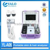 Guangzhou factory digital LCD screen boxy skin & hair analyser skin and hair testing machine