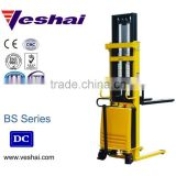 CE Semi Electric battery pallet stacker VH-BS-100/25