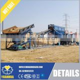 Sand sieving and washing machine