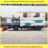 New Dustbin Street Sweeper Truck 8000liters Cleaning Vehicle/Road Sweeper Machine With Snowing Cleaning Equipment