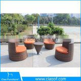 Good Quality Hot Sale Stackable Garden Bistro Set Outdoor Furniture