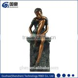 wholesale Ballet dancer art work supplies garden art furniture