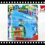 hot sale summer toys solid color bubble gun with led light