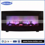 Elaborate Luxury electric firebox insert realistic decor flame electric fireplace