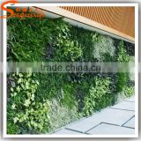 Songtao wholesale artificial greenery wall vertical garden materials fake plant wall for home decor
