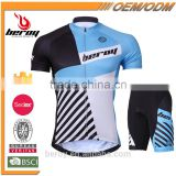 BEROY Latest Customize Anti-UV Short Sleeve Cycling Jersey Set, Bicycle Cycling Skinsuit No Minimum