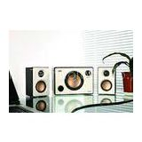 White / Black 2.1 Multimedia Speaker System with USB SD Port and FM Remote Control