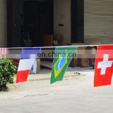 custom cheap colorful bunting flags