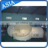 Upgrade workmanship inflatable bubble tent/inflatable snow globe/christmas air blown inflatable snow globe