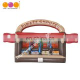 Hot sale pirat game, inflatable pirate shooting with EN14960 certificate