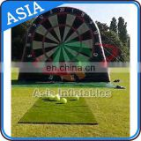 Inflatable Soccer Dart Football Dart Board / Inflatable Football Shooting Darts Board For Sport