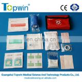 Hot selling medical first aid kit,travel,home and clinic use.
