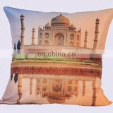 Indian Traditional Royal Lali Prints Taj Mahal Digital Printed Cushion Cover in High Quality