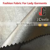 B2985 JC TEXTILE plain dyed 100% polyester pu leather fabric