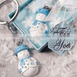 Snowman Key Chain Wedding Favors
