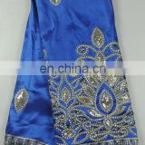 wholesale fancy African silk George lace(BG-009)
