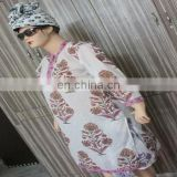 Hand Block Print Casual Tunic Printed Comfortable top Beach Caftan Sexy Kurti 01