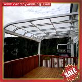 aluminum aluminium metal pc outdoor balcony gazebo patio canopy canopies cover awning shelter polycarbonate for sale