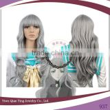 long curly grey Kuroshitsuji cosplay wig