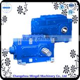 Sewing Machine Used H/B Serial Helical /Bevel Mechanical Gear box Speed Reducer With 24v dc motors