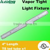 "Vapor Tight Light 1tube * 4"" Length 1200mm IP65 LED Tri-proof LED Light"
