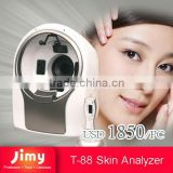 Professional Facial Skin Analyzer Magic Mirror with software system for beauty salon