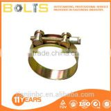 manufacture din3017 yellow zinc hose clamps