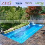 Rectangle Fiberglass Swimming Pool Shell, Fiberglass Pool Inground                                                                         Quality Choice