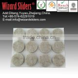 Rounded Furniture Adhesive Felt Pads