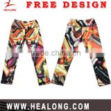 wholesale custom made subliamtion printed OEM women's yoga pants women leggings