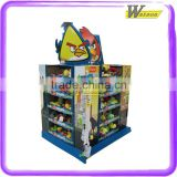 Retail POP Cardboard Pallet Display Shelf Cardboard Promotional Display Shelf For Baby Toys