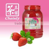 Taiwan Bubble Tea Materials Supply Strawberry Flavored Coconut Jelly