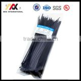2.5*200mm 3*150mm 3*200mm Black Nylon 66 Plastic Flexible Cable Ties