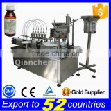 Sales promotion automatic liquid filling sealing machine,bottle filling machinery
