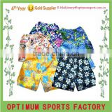 100% polyester fabric making various high quality beach shorts/board shorts