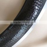dimple carbon alloy rims 60mm 700c clincher road
