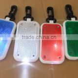 Hot Selling Flashing ABS Led Reflector Light Key Tag