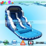 Giant inflatables water slides,ocean wave inflatable pool slide for sale,2016 18oz commercial pvc inflatable slide                                                                                                         Supplier's Choice