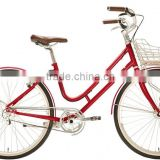 700C inch Nexus 3 speed new style CHROME frame and alloy rims classic city adult bicycle
