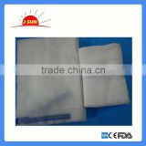 high quality surgical lap sponges(abdominal gauze) blue loop and x ray chips abdominal pad