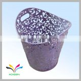 High quality metal stand decorative esd waste bin