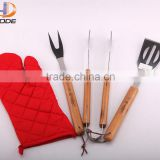Hot barbecue tool 3 pieces BBQ tool set