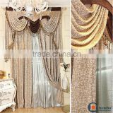New design turkish curtain fabric soundproof window curtain