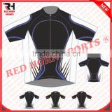 Team Graphic Cycling Half Sleeves Jersey, Retail Bike Racing Jersey
