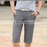 2015 new summer thin male casual pants shorts pants breathable linen fashion