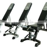 Professional Multi Adjustable Exercise Bench Weight Training Equipment